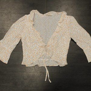 Cropped Star Blouse